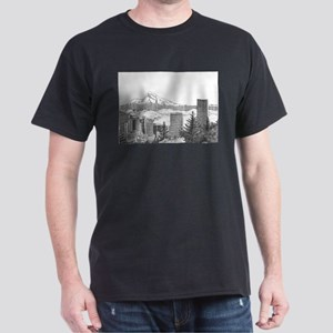 Portland/Mt. Hood Dark T-Shirt
